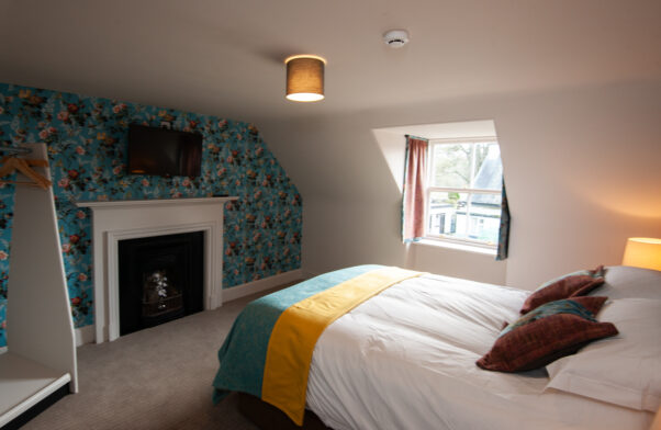 One of the two bedrooms at the Cottage