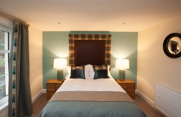 One of the bedrooms at Parkside Cottage
