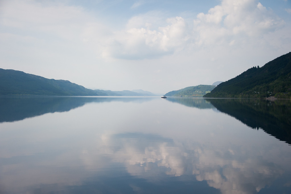 Loch Ness, not far from Loch Ness Cottage Collection
